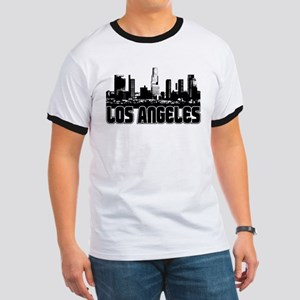 Los Angeles Skyline Ringer T