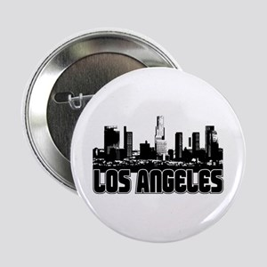 "Los Angeles Skyline 2.25"" Button"