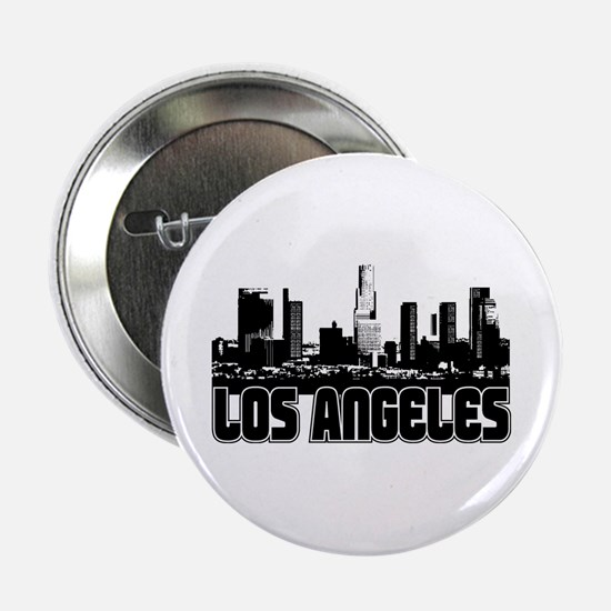 "Los Angeles Skyline 2.25"" Button"