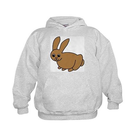 Brown Bunny Kids Hoodie