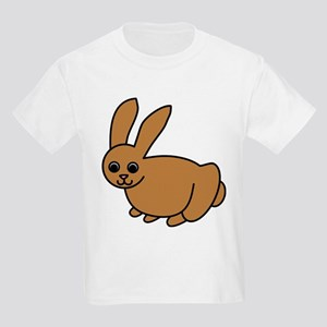 Brown Bunny Kids T-Shirt