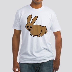 Brown Bunny Fitted T-Shirt