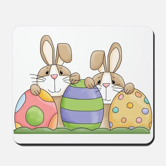 Easter Bunny Inside Easter Egg Mousepad