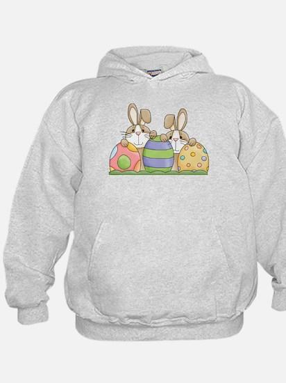 Easter Bunny Inside Easter Egg Hoodie