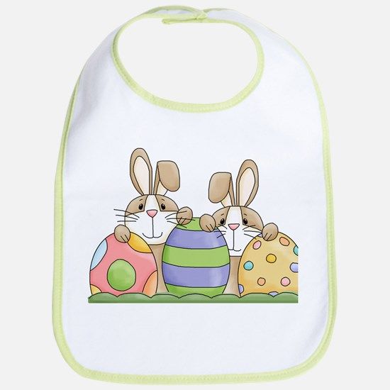 Easter Bunny Inside Easter Egg Bib