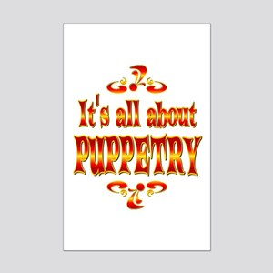 About Puppetry Mini Poster Print