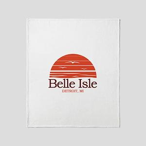 Belle Isle Throw Blanket