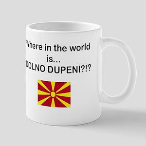 Macedonia - Where is Dupeni Prespa Mug