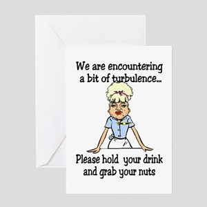 grab your nuts Greeting Card