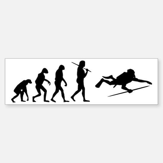 The Evolution Of The Scuba Diver Sticker (Bumper)