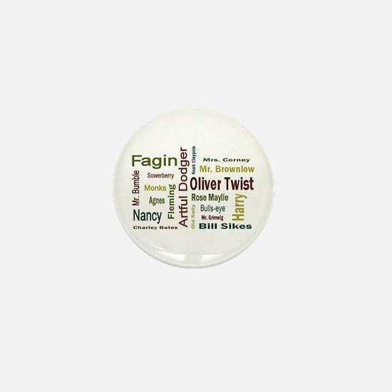 Oliver Twist Folks Mini Button
