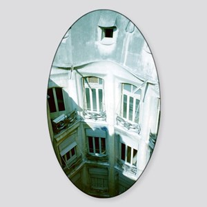 Gil Warzecha - Sticker (Oval)