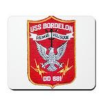 USS BORDELON Mousepad