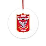USS BORDELON Ornament (Round)