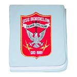 USS BORDELON baby blanket