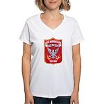 USS BORDELON Women's V-Neck T-Shirt