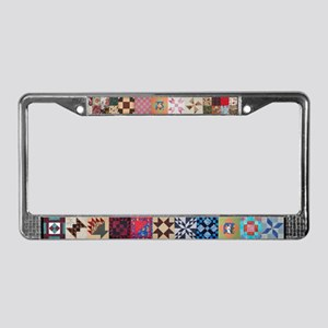 Lisa's Quilt License Plate Frame
