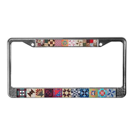 Lisa's Quilt License Plate Frame