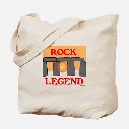 ROCK LEGEND Tote Bag