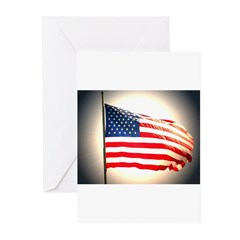 flags Greeting Cards (Pk of 10)
