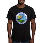 USS BORDELON Men's Fitted T-Shirt (dark)