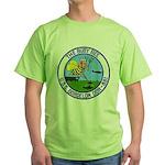 USS BORDELON Green T-Shirt