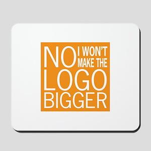 No Big Logos Mousepad