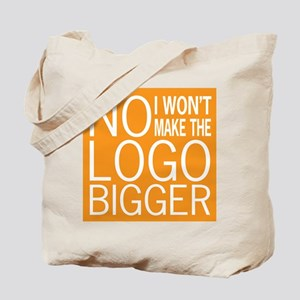 No Big Logos Tote Bag
