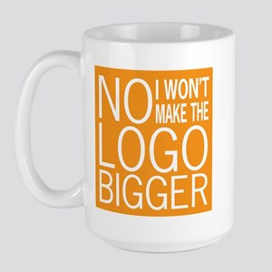 No Big Logos Large Mug