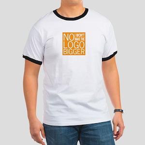 No Big Logos Ringer T