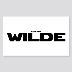 Oscar Wilde Sticker (Rectangle)