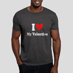 I Love My Valentine: Dark T-Shirt