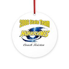 Coach Kristen Ornament (Round)