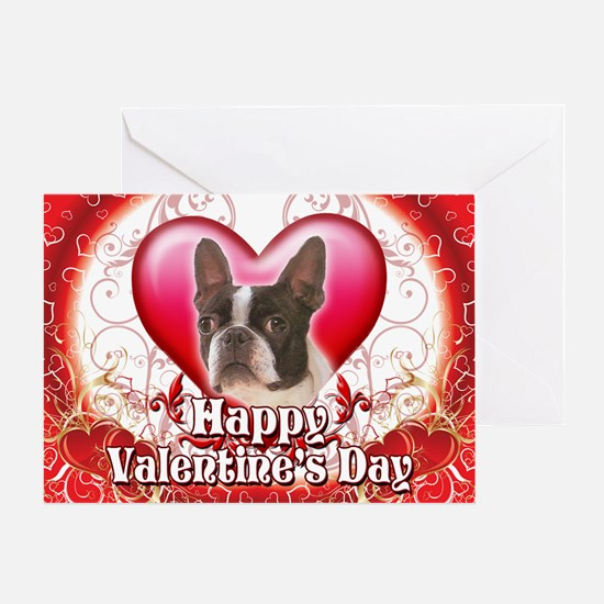 Happy Valentine's Day Boston Greeting Card