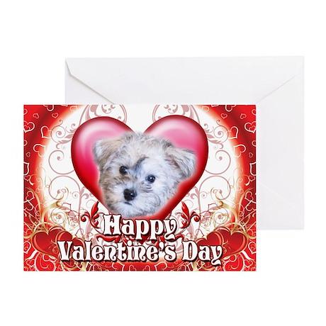 Happy Valentine's Day Schnood Greeting Card