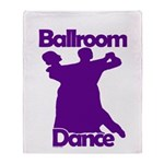 Ballroom Dance Throw Blanket