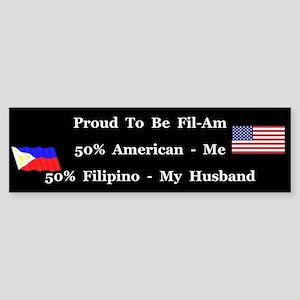 Fil-Am #2 Bumper Sticker