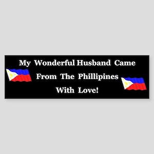 Wonderful Husband Bumper Sticker
