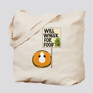 Will Wheek for Food Tote Bag