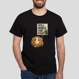 Will Wheek for Food Dark T-Shirt