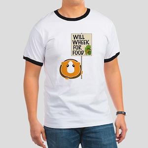 Will Wheek for Food Ringer T