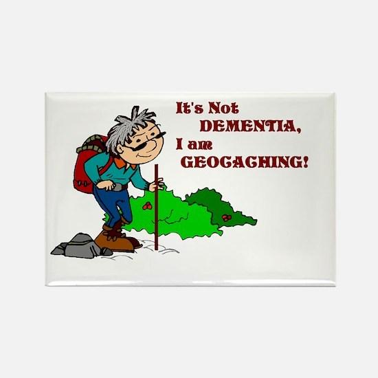 It's Not DEMENTIA! Rectangle Magnet