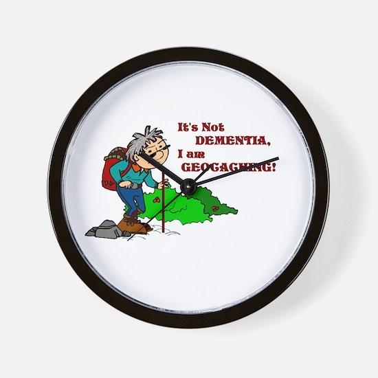 It's Not DEMENTIA! Wall Clock