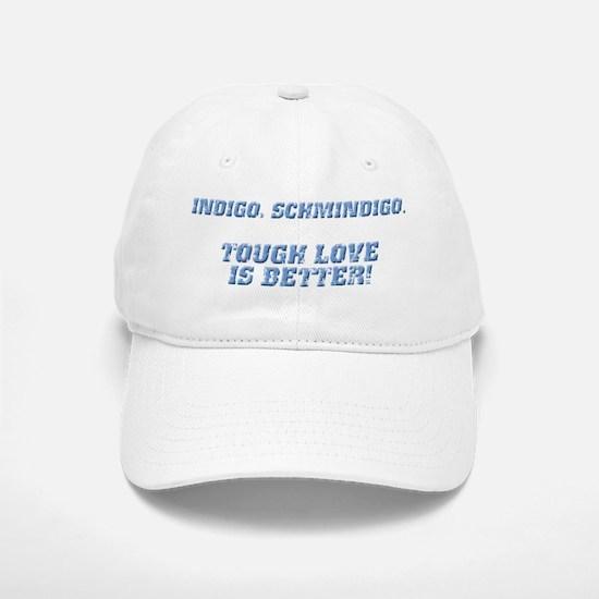 Indigo, Schmindigo Baseball Baseball Cap