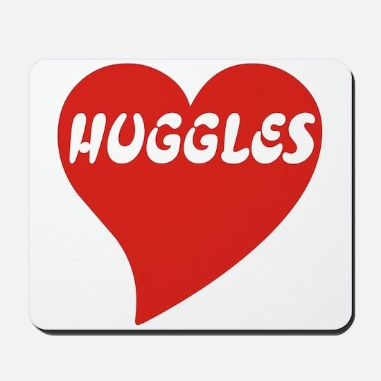 Love Huggles Mousepad
