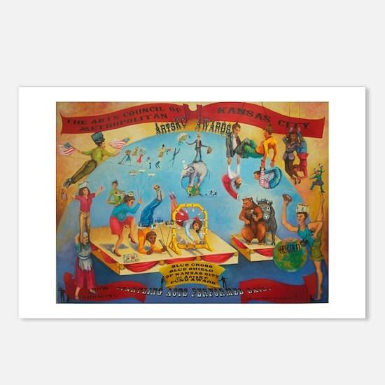 Blue Cross Blue Shield ArtsKC Painting Postcards (