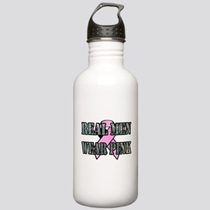 Real Men Wear Pink Stainless Water Bottle 1.0L