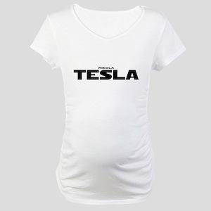 Tesla Maternity T-Shirt