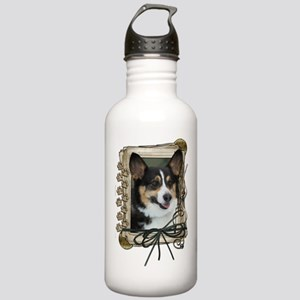 Father's Day - Stone Paws Stainless Water Bottle 1