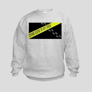 Crime Scene Kids Sweatshirt